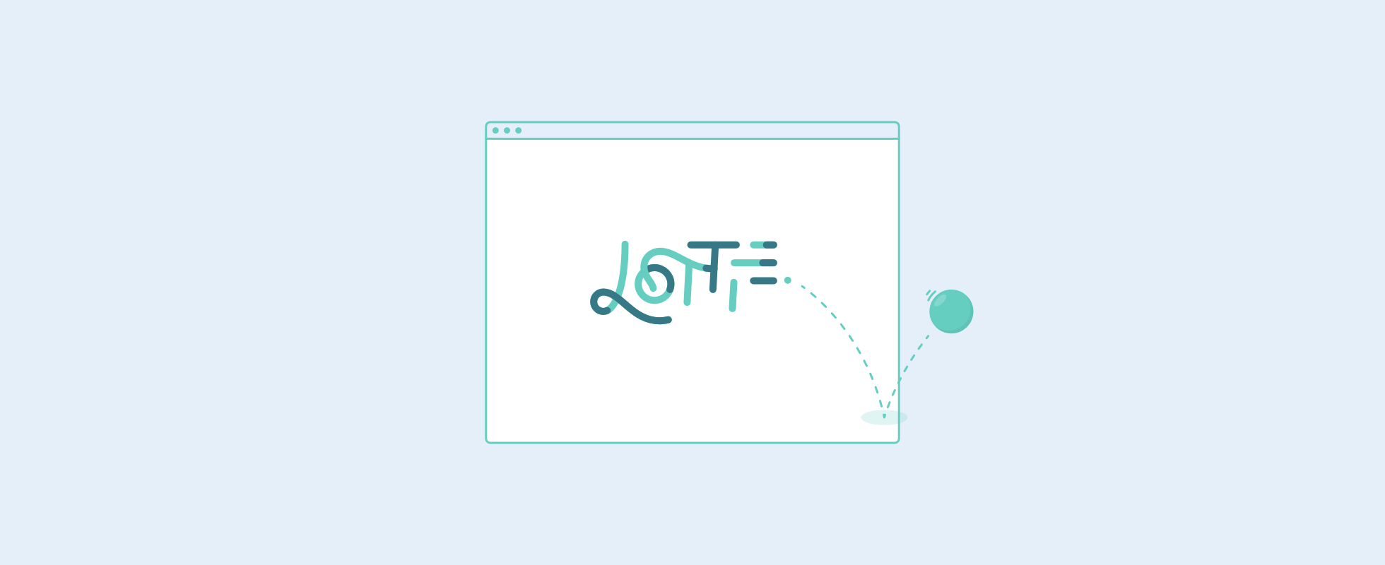 How to use web animations with Lottie