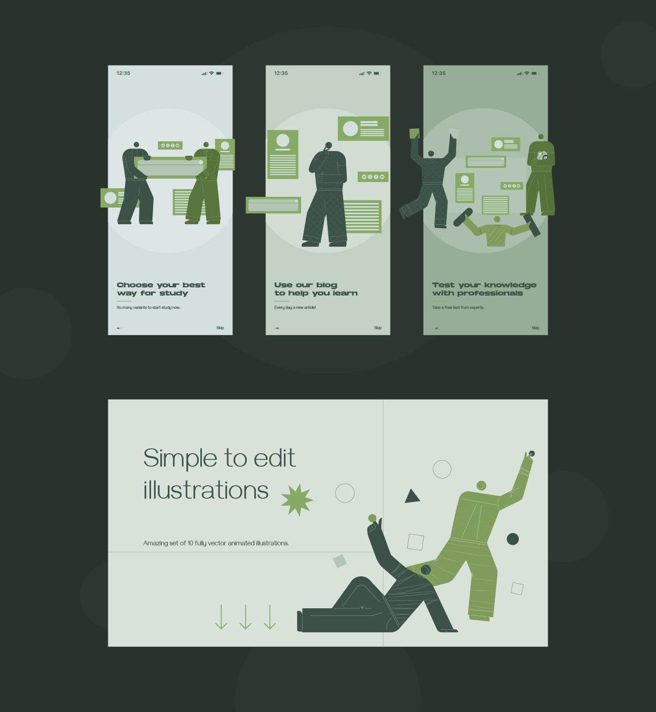 Jeanneret Animated Illustrations