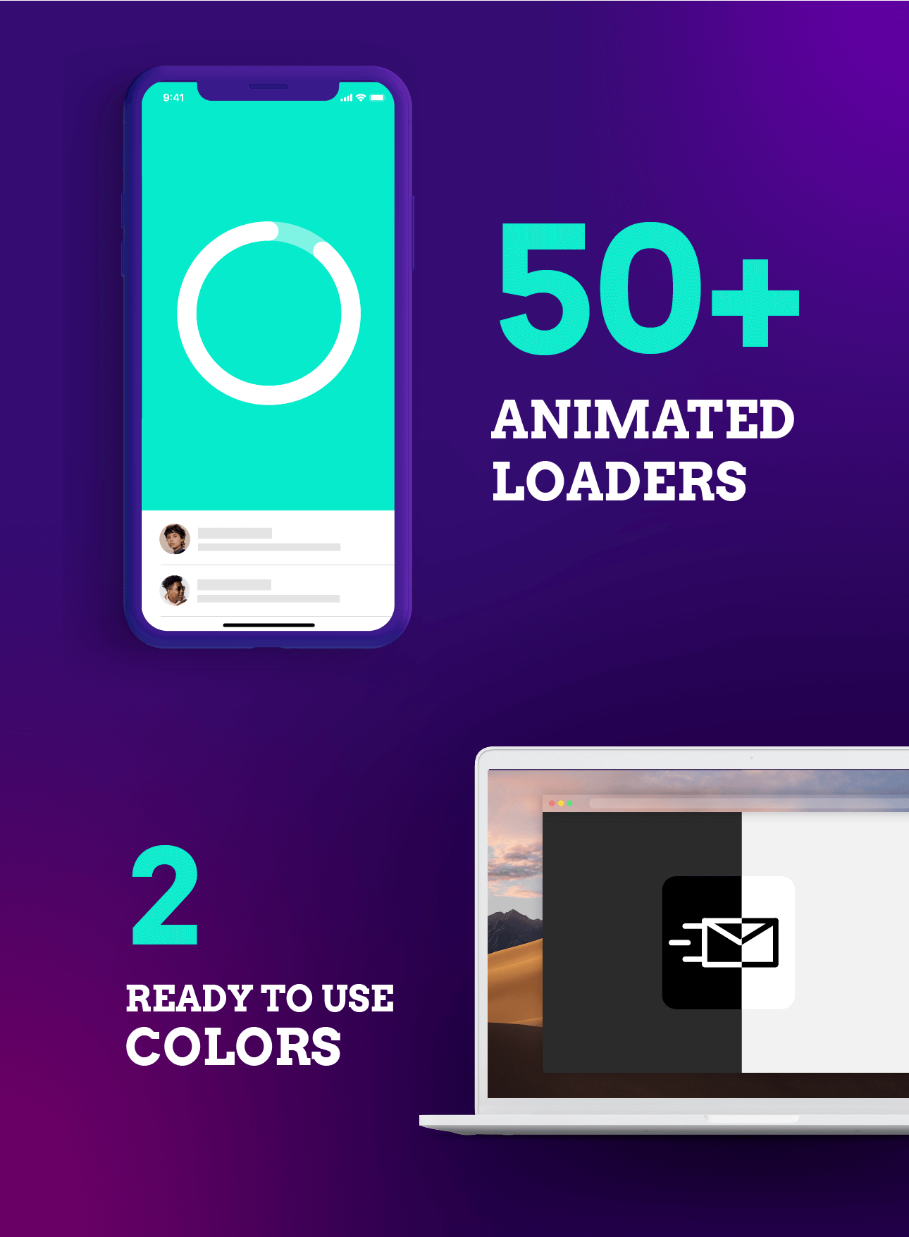 50+ Animated Loaders